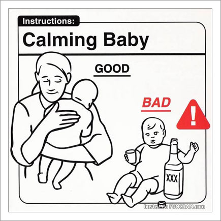 Baby Instructions For New Parents: Calming Baby