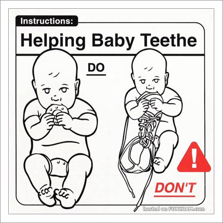 Baby Instructions For New Parents: Helping Baby Teethe