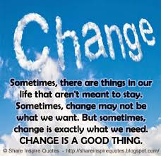 Changes Change Everything!