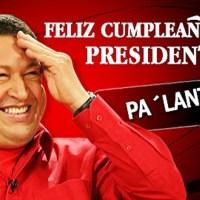 TUITEROS DE VENEZUELA Y DEL MUNDO CELEBRAN EL CUMPLEAÑOS DEL PRESIDENTE CHÁVEZ