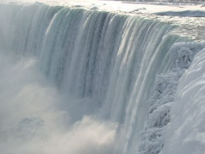 Niagara Falls in the wintertime