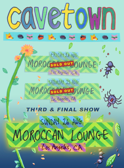 Cavetown Three Shows at the Moroccan Lounge The Scenestar
