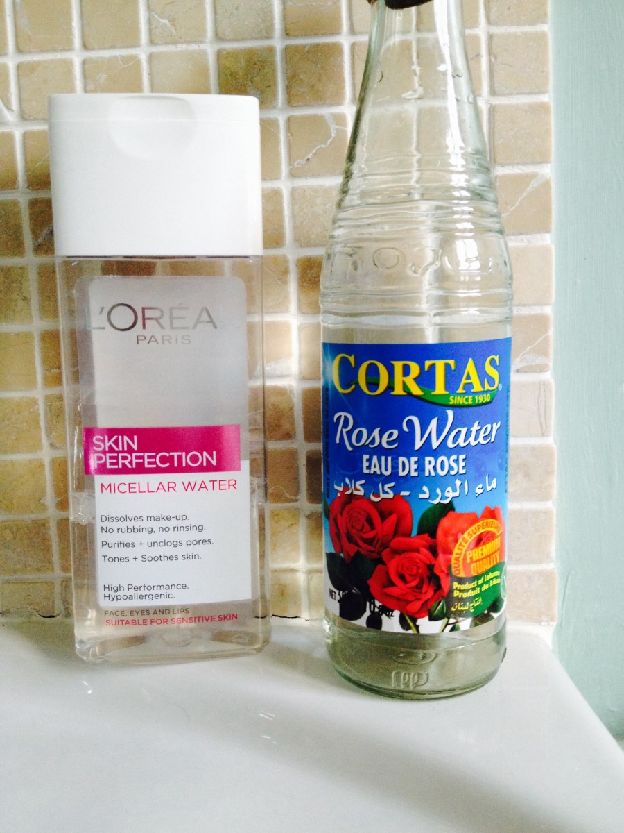 Home made Rosewater, Witch Hazel & Glycerine Cleanser vs Micellar Water