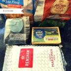 Marzipan Butter Sugar Self Raising Flour