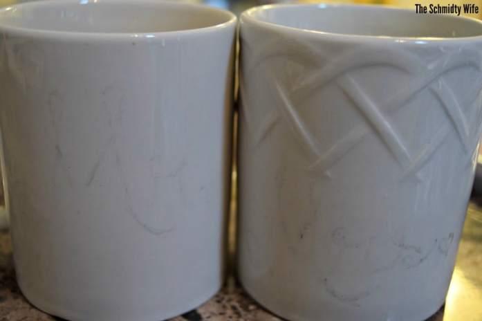 DIY personalized mugs | The Schmidty Wife