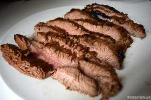 Marinated & Grilled Flank Steak