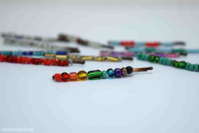 DIY Beaded Bobby Pin