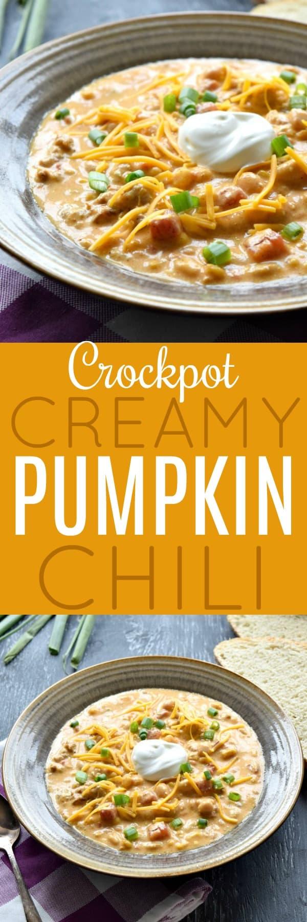 Creamy Pumpkin Chili