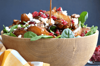Roasted Pear & Pecan Salad