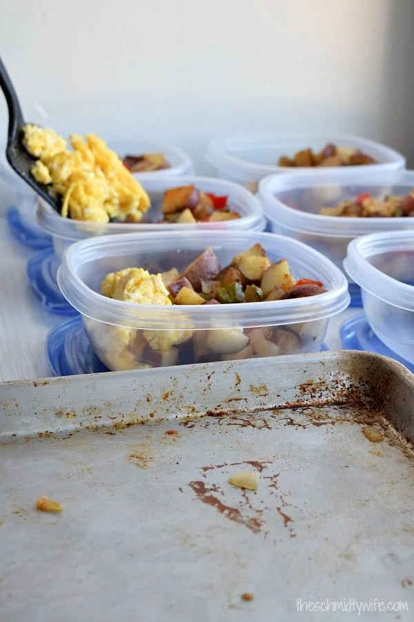 Meal Prep Roasted Potato Breakfast