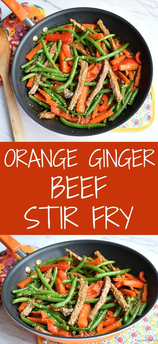 Orange Ginger Beef Stir Fry