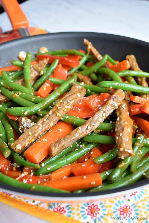 Orange Ginger Beef Stir Fry