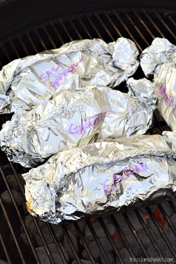 Foil Pack Butter Chicken
