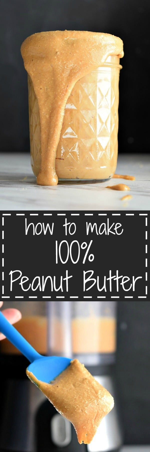 How to make 100% peanut butter