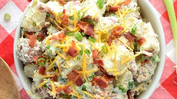 Bacon Ranch Potato Salad