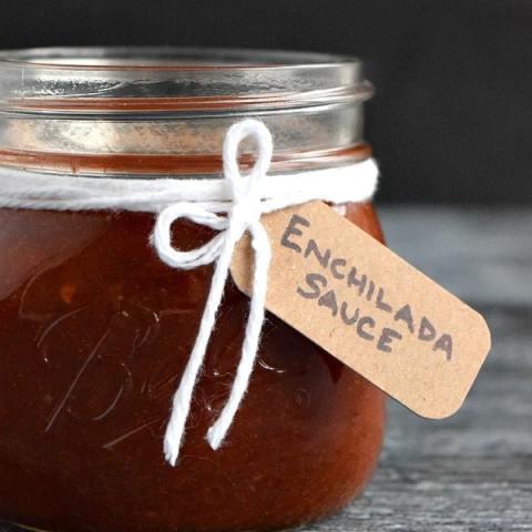 Blender Enchilada Sauce