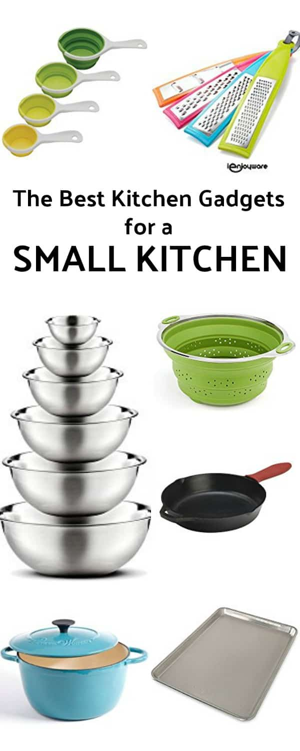 The Best Kitchen Gadgets for a Small Kitchen Pinterest Pin #giftideas #smallkitchen #christmas