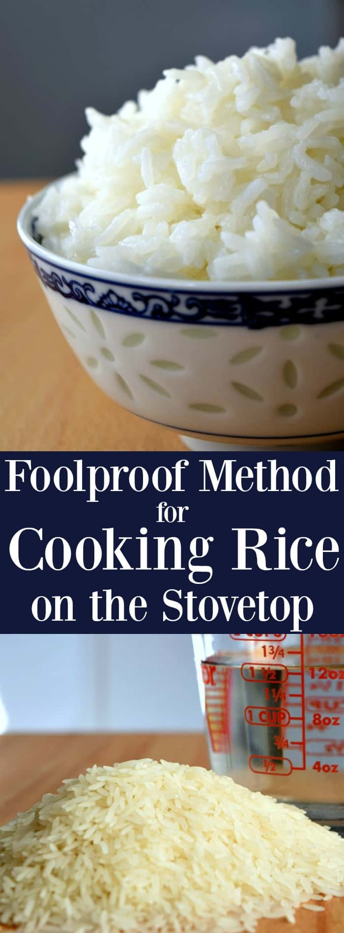 Foolproof Method for Cooking Rice on the Stovetop