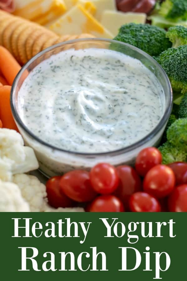 a healthy and easy homemade ranch dip that is a great alternative to ranch dressing
