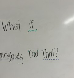 1st Grade Lesson on Respect: What If Everybody Did That? [ 2448 x 3264 Pixel ]