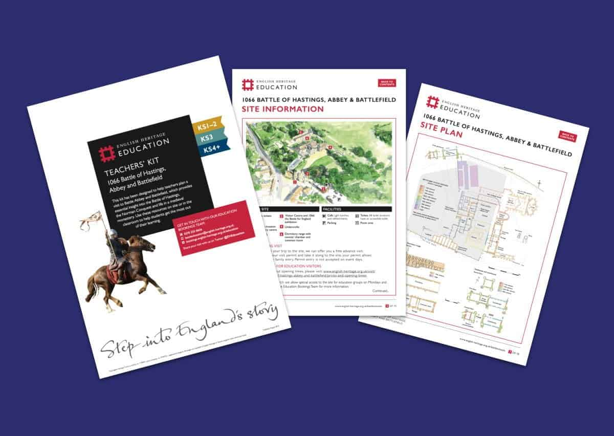 Battle Of Hastings Abbey And Battlefield Teachers Kit