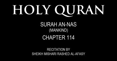 AMAZING NUMERICAL FACTS ABOUT AL NAS (THE MANKIND) CHAPTER