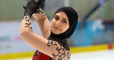 Zahra Lari Is World's First Hijabi To Compete Internationally As A Professional Ice Skater