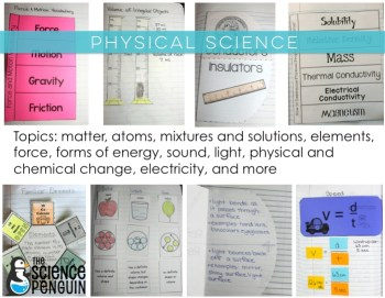 All in One Interactive Science Notebook