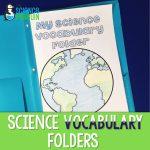 Science Vocabulary Folders