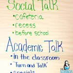 Social Talk vs. Academic Talk