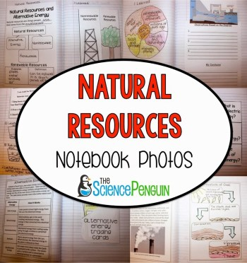 National Resources Notebook Photos and Ideas
