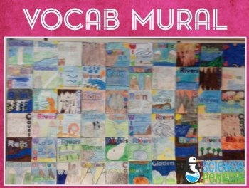 Science Vocabulary Murals