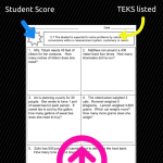 TEKS-Based Math Assessments (for new TEKS!)