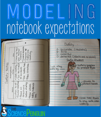 Modeling Interactive Notebook Expectations: how I teach my students my expectations for quality work