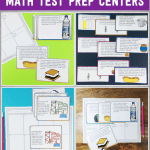 Math Test Prep Stations