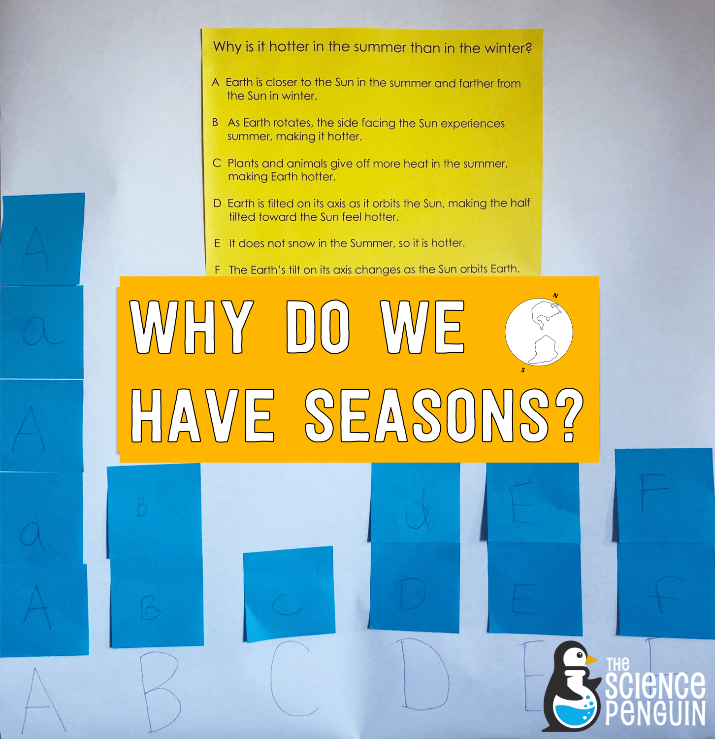 hight resolution of 5 Ideas to Teach Why We Have Seasons