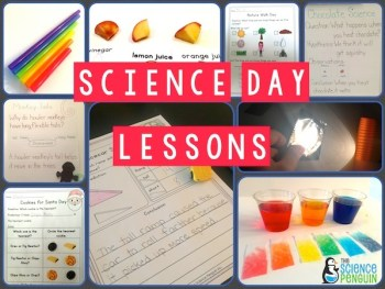 Science Day Lessons for K/1