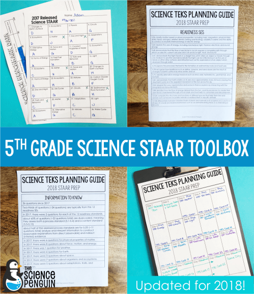 small resolution of 5th Grade Science STAAR for 2018