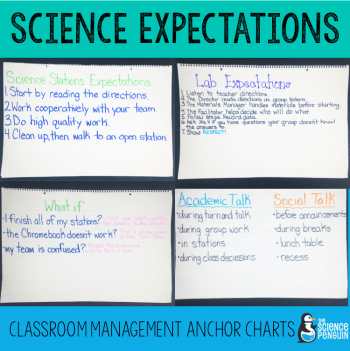 Working with interactive science notebooks, group labs, and science stations require special planning for classroom management.  Find out more about my expectations during science.