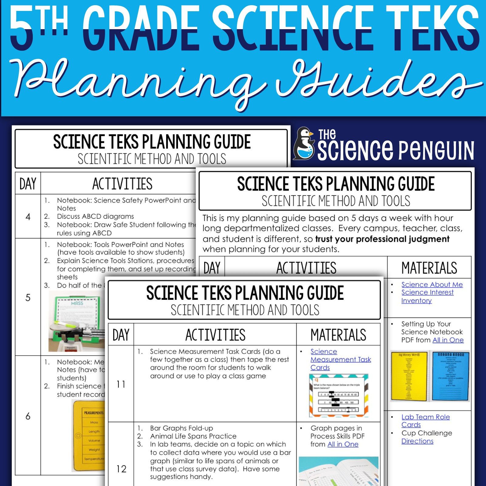 hight resolution of 5th Grade Science Streamlined TEKS Planning Guides