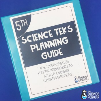 5th Grade Science TEKS Planning Guide