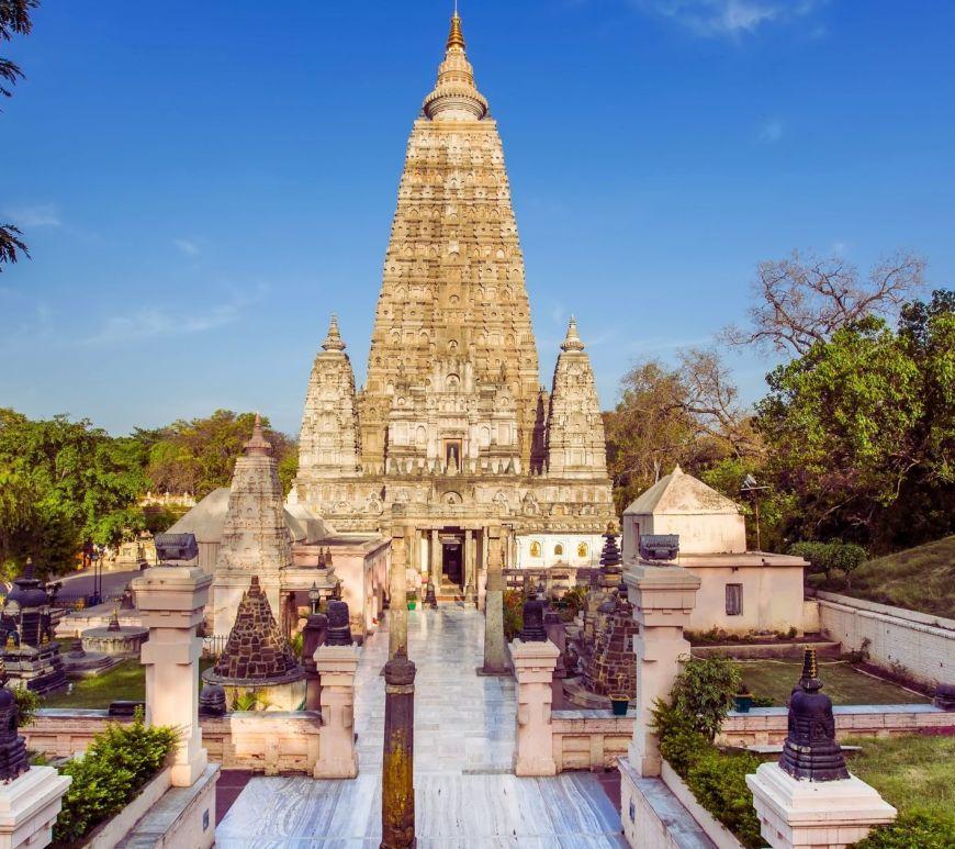 The Mahabodhi Temple
