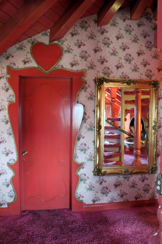 Photo of the Love Nest room at the Madonna Inn