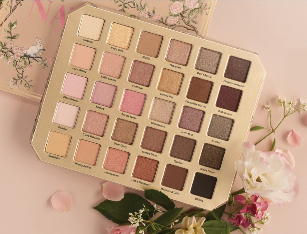 Natural Love eye shadow palette by Too Faced Cosmetics