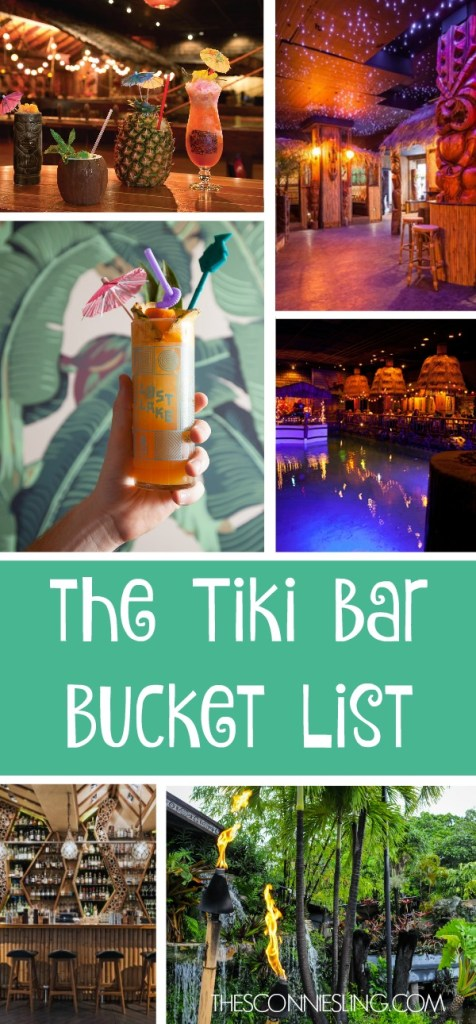 The TIki Bar Bucket List: the tropical bars still on my to-do list