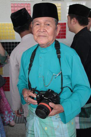 The penghulu of Mukim Tamoi, Pengarah Hj Mukti Salleh. Photo: Rasidah Hj Abu Bakar/The Scoop