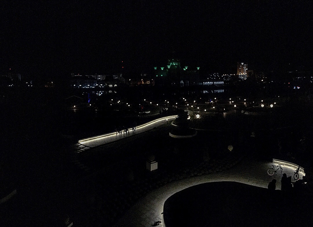 Taman Mahkota Jubli Emas goes dark for Earth Hour