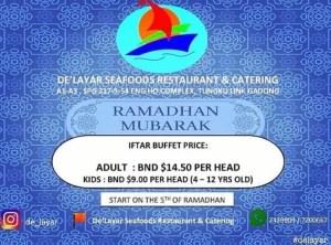 De' Layar Seafood Restaurant & Catering