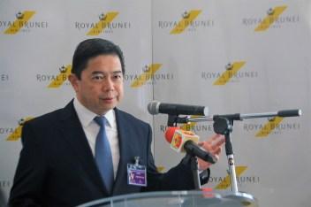 Second finance minister Dato Dr Hj Mohd Amin. Photo: Rasidah Hj Abu Bakar/The Scoop