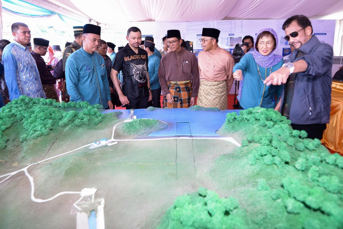 Ulu Tutong Golden Jubilee Dam to supply water for 250K people